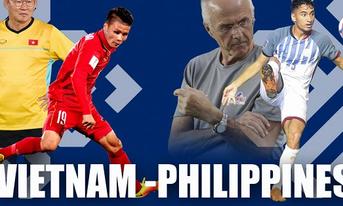 Xem trực tiếp Việt Nam vs Philippines ở đâu?