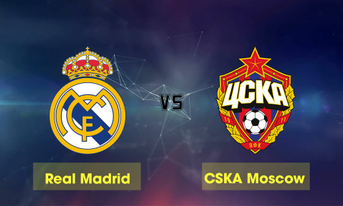 Trực tiếp Real Madrid vs CSKA Moscow, 00h55 ngày 13/12