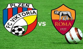 Trực tiếp Viktoria Plzen vs AS Roma 0h55 ngày 13/12