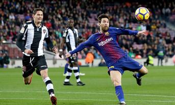 Trực tiếp Barcelona vs Levante, 03h30 ngày 18/01/2019