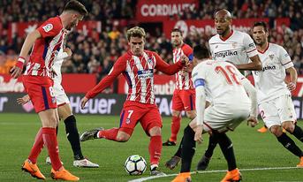 Trực tiếp Sevilla vs Atletico Madrid, 22h15 ngày 06/1