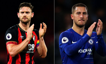 Trực tiếp AFC Bournemouth vs Chelsea, 02:45 – 31/01/2019 Ngoại hạng Anh