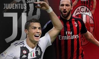 Trực tiếp Juventus vs AC Milan, 00h30 ngày 17/1/2019