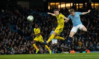 Burton Albion vs Manchester City trực tiếp, 02:01 – 24/01/2019 Cúp liên đoàn Anh