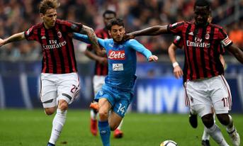 Trực tiếp AC Milan vs Napoli, 02:45 – 30/01/2019 Cúp quốc gia Ý – Coppa Italia