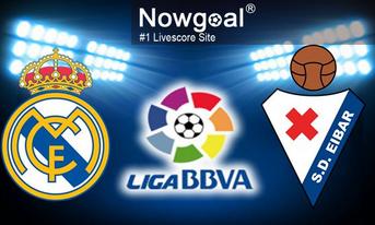 Trực tiếp Real Madrid vs Eibar, 21:15 – 06/04/2019 LaLiga