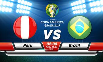 Link Sopcast, Acestream Peru vs Brazil, 02:00 ngày 23-06-2019