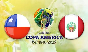 Trực tiếp Chi lê vs Peru, 07:30 – 04/07/2019 Copa America