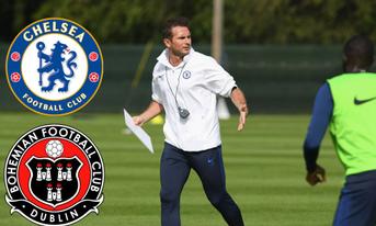 Trực tiếp Bohemians Dublin vs Chelsea, 01:45 – 11/07/2019 Giải giao hữu cấp câu lạc bộ