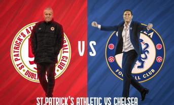 Trực tiếp St Patricks Athletic vs Chelsea, 20:00 – 13/07/2019 Giải giao hữu cấp câu lạc bộ