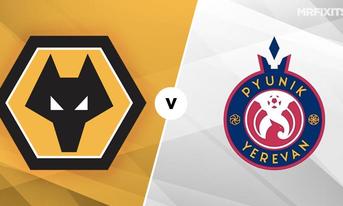 Link Sopcast Wolverhampton vs Pyunik Yerevan 01h45 ngày 16/08/2019