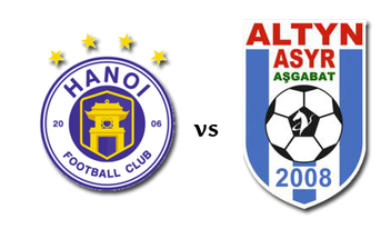 Hà Nội FC vs FC ALTYN ASYR, xem trực tiếp ở đâu, kênh nào?