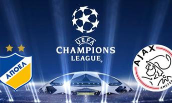 Link sopcast APOEL NICOSIA vs Ajax Amsterdam, 02:00 ngày 21/08/2019