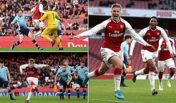 Arsenal, hi vọng của các cầu thủ trẻ tại Carabao Cup