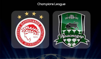 Link sopcast, Acestream Olympiakos vs Krasnodar, 02:00 ngày 22/08/2019