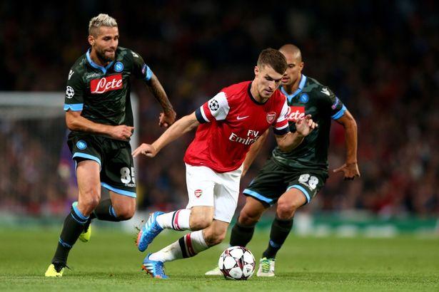 Trực tiếp Arsenal vs Napoli