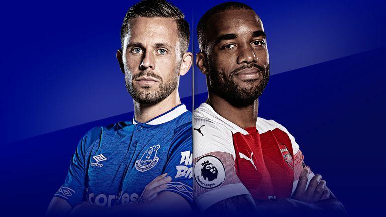 Trực tiếp Everton vs Arsenal