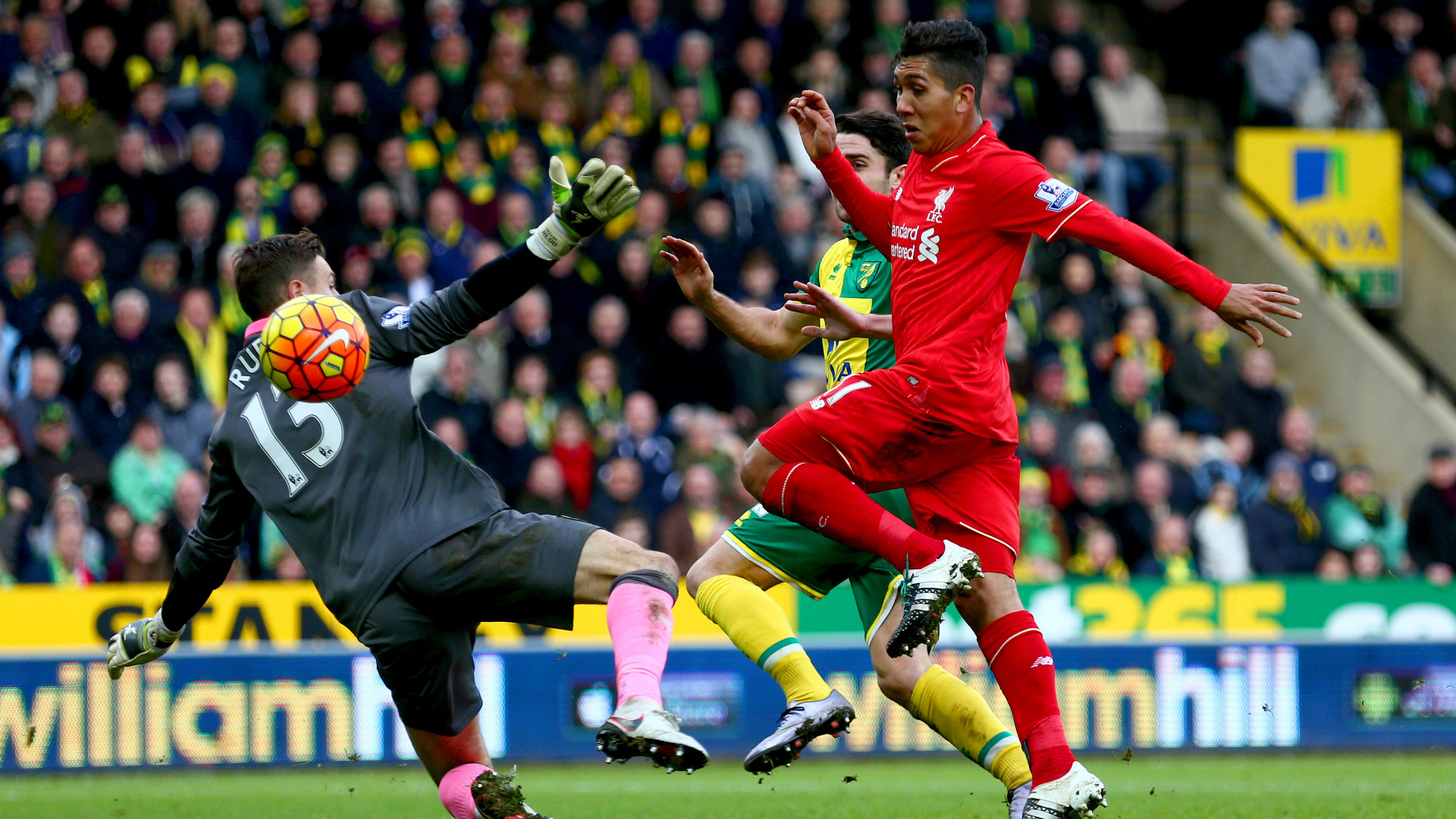 Trực tiếp Liverpool vs Norwich City